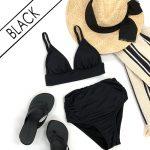 黒(ブラック)の水着
