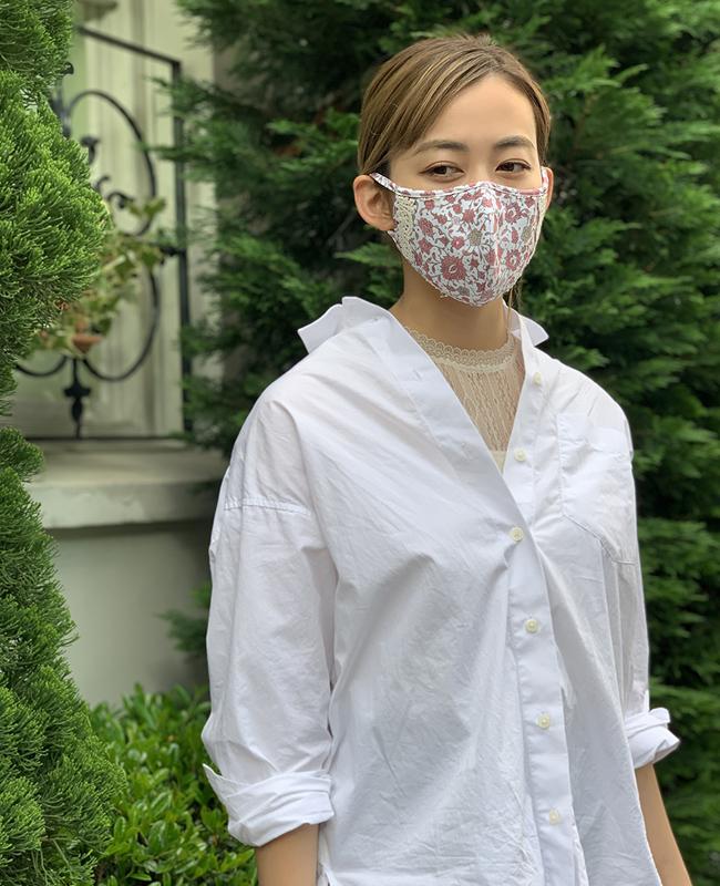 水着素材洗えるUVカットマスク