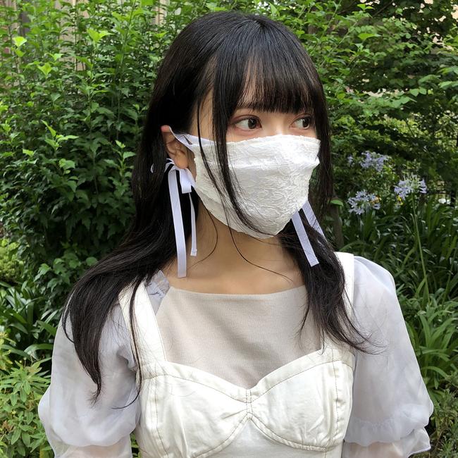 【フェミニンマスク特集】MASK is FASHION!マスクのおしゃれを楽しむ女子が急増中!!