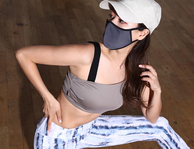水着素材UVカットマスク