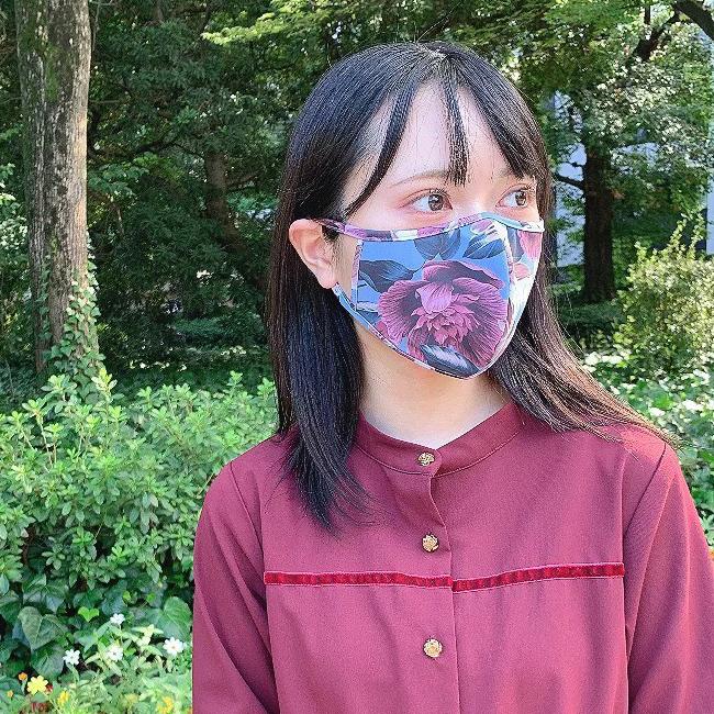 水着素材の快適マスク