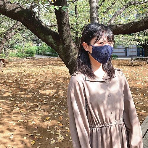 【withマスク】秋服・TPOに合わせて、水着素材の快適マスクでお洒落を楽しみましょう!!