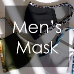 【メンズマスク特集】男性におすすめ!お洒落で快適な着け心地の水着素材UVカットマスク!!