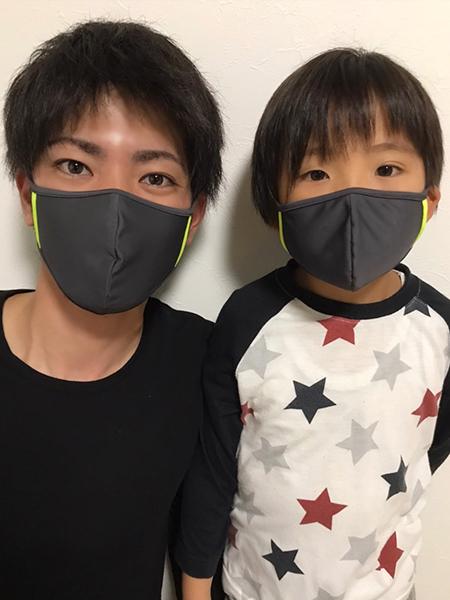 【キッズサイズ】PEAK&PIINE洗える水着素材のUVカットマスクをご紹介!