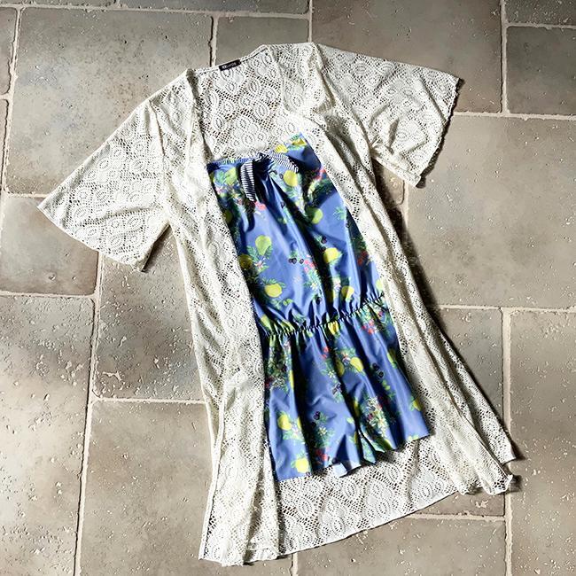 お洋服感覚で着られる!露出少なめで体型カバーもできる可愛い水着特集♡